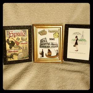 Travel Barcelona, Spain Paris, France Rome, Italy